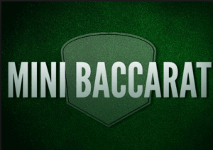 image of online baccarat variation in new zealand- mini baccarat