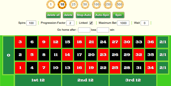 image of online roulette simulator in new zealand