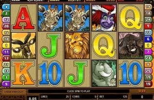image of the 5-reel online pokies in new zealand