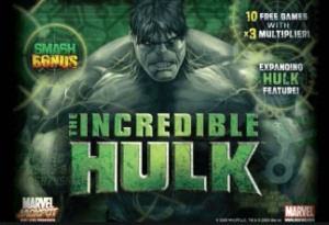 image of the incredible hulk progressive slot for kiwi players