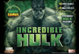 image of the incredible hulk progressive slot for kiwi players