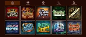 image of river belle casino games selection top NZ casino