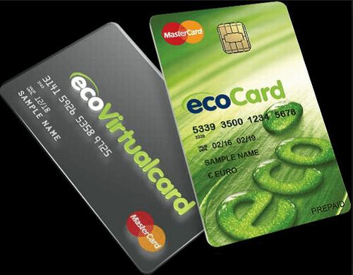 ecoCard and ecoVirtual cards