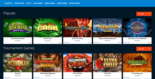 Fun Casino Game Library