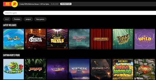 Rizk Casino Games & Slots