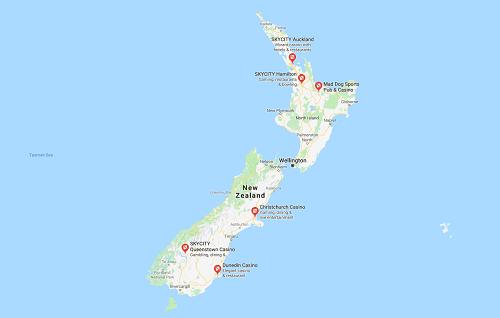 land based casinos NZ