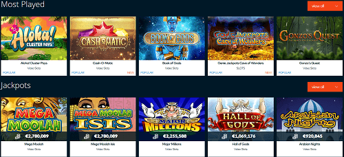 Fun Casino Gaming Library
