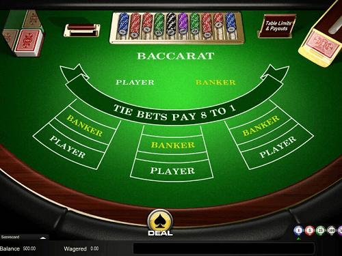 top baccarat online