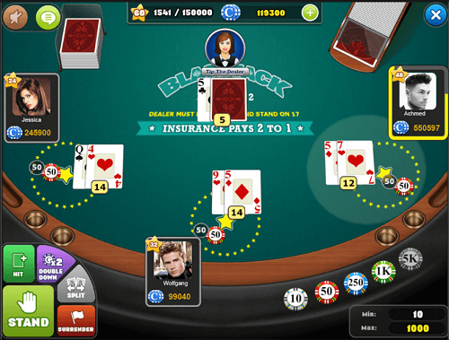best blackjack online games