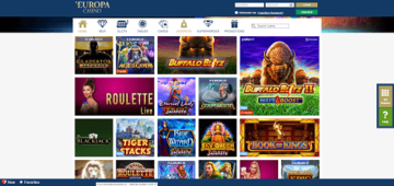 europa casino gaming
