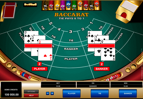 play baccarat and win