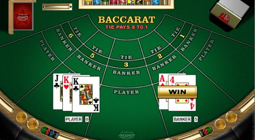 casino baccarat rules