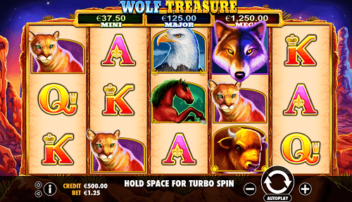 wolf treasure review and rating