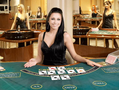 live poker casino games