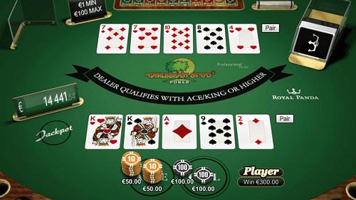 caribbean stud poker game rules