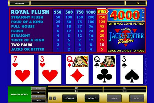 common video poker faqs